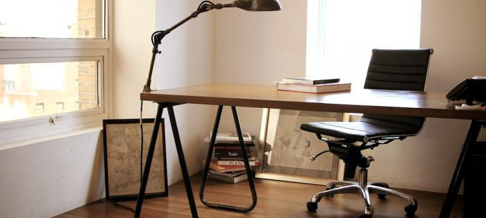 kontorstole i læder