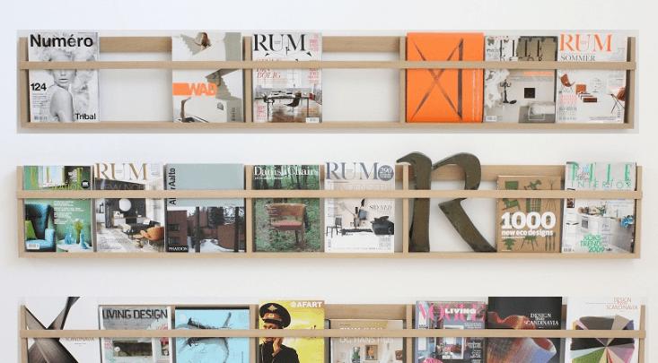 Moderne magasinholder