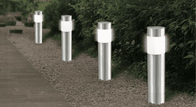 Solcelle lamper udendørs