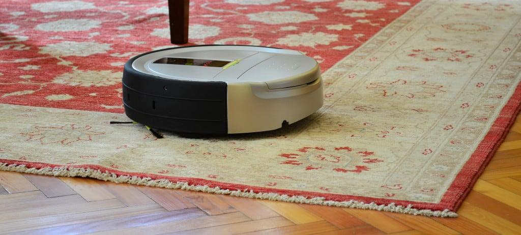 Gammel robotstøvsuger
