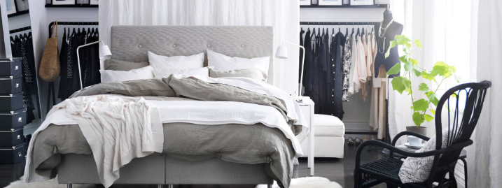 Indretning af soveværelset
